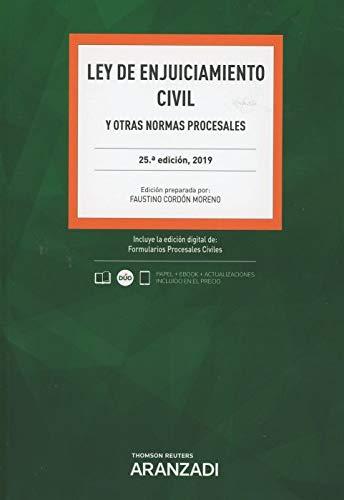 Ley de enjuiciamiento civil 2019 y otras normas procesales. Formato Dúo