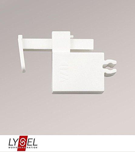 LYSEL® SET Klemmträger Raffrollosysteme Compact&Comfort Breite: 2cm Höhe: 3.40cm