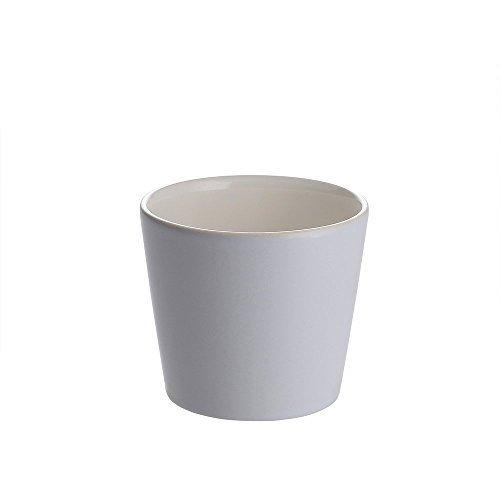 Alessi DC03/41 PB Tonale Bicchiere in Ceramica, Viola