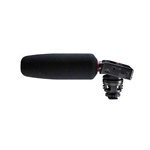 Tascam DR-10SG – Registratore audio con microfono a fucile per camere DSLR