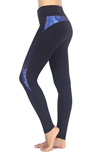Zinmore - Leggings sportivi -  donna Black-1191