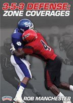 Rob Manchester: 3-5-3 Defense: Zone Coverages (DVD) -