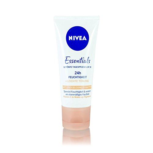 Nivea Essentials Getönte Feuchtigkeitspflege 50ml/ 24 h Feuchtigkeit Hautpflege/Gesichtspflege/...