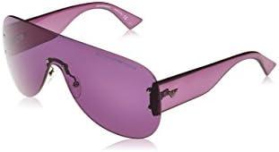 Emporio Armani EA 9838/S, Gafas De Sol Unisex Adulto, Morado (Purple), Talla Única (Talla del Fabricante: One Size)