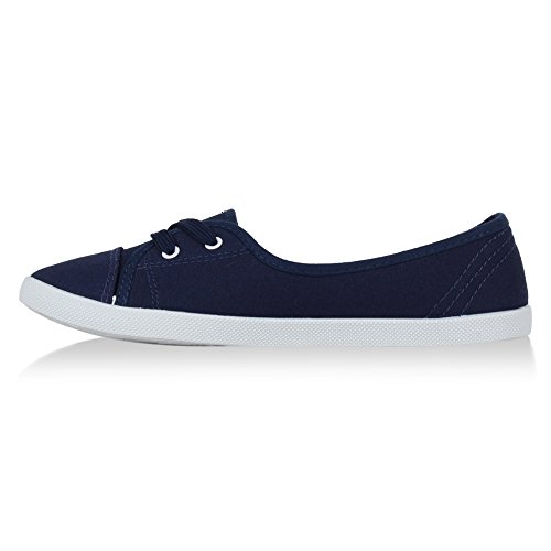 Stiefelparadies - Sneaker Donna Blu (blu scuro)