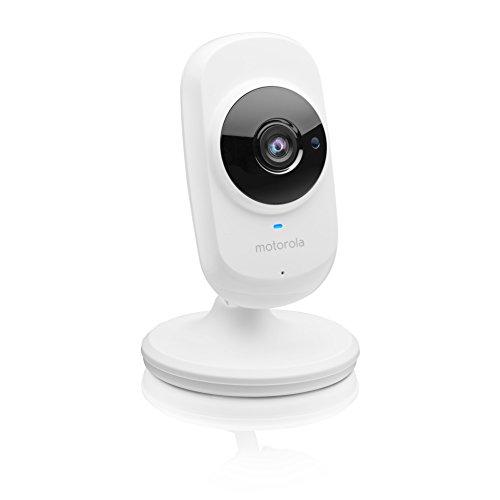 Motorola FOCUS 68 | 720p HD Home-Überwachsungskamera | WLAN Überwachung via Smartphone für zuhause | Weiß (Zu Hause Wireless-sicherheit-system)