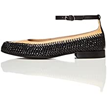 FIND Women's Basket Weave Flat Shoes