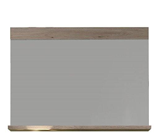 trendteam Garderobe Wandspiegel Campus, 90 x 68  x 15 cm in Eiche San Remo Hell (Nb.) mit...