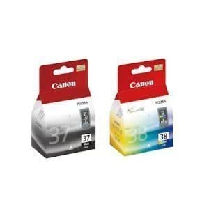 Canon PG37/CL38 Ink Cartridge - Black/Colour (Pack of 2)