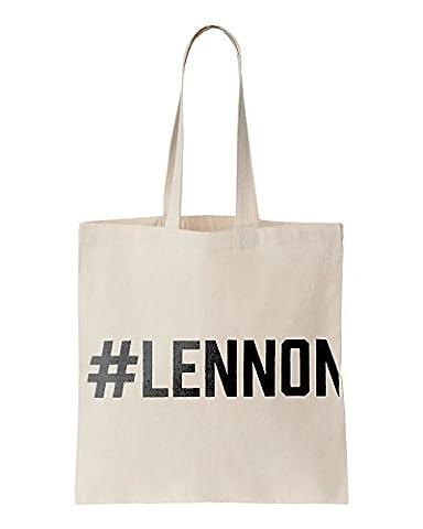 #LENNON printed Tote bag