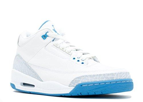 10 Size Jordan Air 3 (Nike Womens Air Jordan 3 Retro - 315296-142 - Size 10 -)