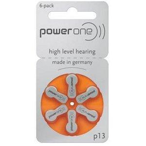 120 Stück Varta PowerOne P 13 - Hörgerätebatterie PR48 - 310 mAh 1,4 V