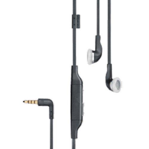 Stereo-Headset Schwarz (Original Nokia WH-601) für Nokia 5300, 6290, 6300, N95, N97 5300 Stereo