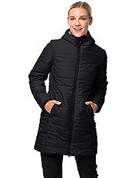 Jack Wolfskin Maryland Coat, leichter, winddichter und atmungsaktiver Mantel für Damen, wasserabweisende Steppjacke für Damen, sehr warm wattierter Parka für Damen