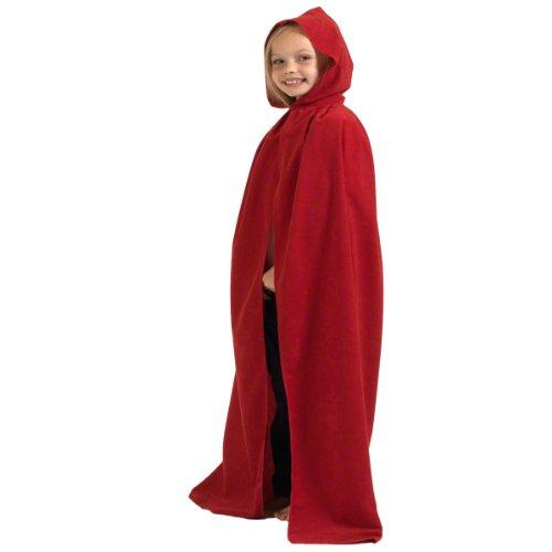 uze – Einheitsgröße 8-10 Jahre (Rotkäppchen Kostüm Für Jugendliche)