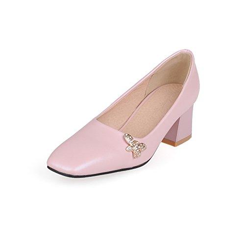Balamasaapl10300 - Sandales Pour Femmes Avec Cale Rose