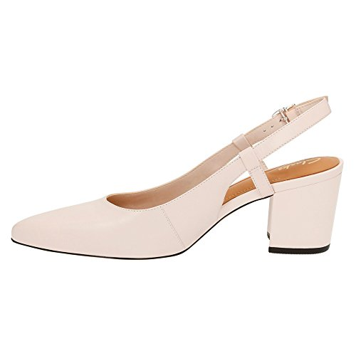 Clarks Pravana Claire slingback Nude Pink Leather