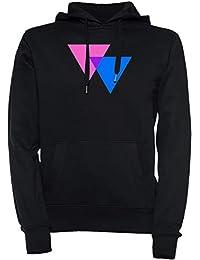 Biangles bisexualidad Símbolo - bisexualidad Unisexo Hombre Mujer Mujer Sudadera con Capucha Pullover Negro Todos Los