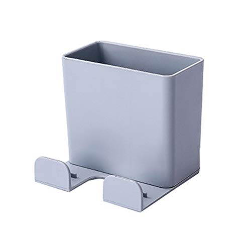 lymty Fernbedienung Aufbewahrungsbox Wand-Handyhalter Media Organizer Box klar Acryl Fernbedienung Halter Wandhalterung mit Haken
