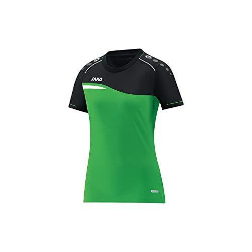 JAKO Herren T-Shirt Competition 2.0, Soft Green/schwarz, XL -