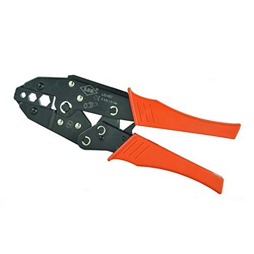 Crimpzangen CCTV/CATV-Crimpzange, für Crimp-Koaxialkabel 11/8,2/5,4 mm, 4C / 5 / 7C-Kabelcrimpwerkzeug,Handliche Bauform Catv Crimp
