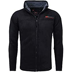 Geographical Norway Outdoorjacke Usine Noir Marine L