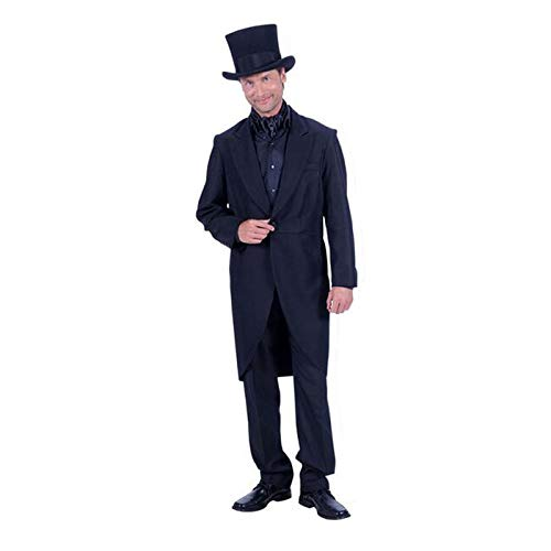 PARTY DISCOUNT® Herren-Kostüm Frack Deluxe, schwarz, Gr. 52