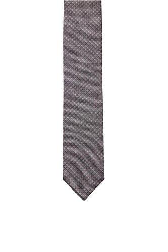 ESPRIT Collection Herren Krawatte 096EO2Q003, Grau (Light Grey 040), One size