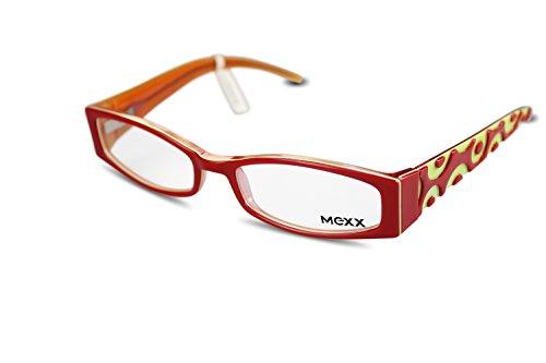 MEXX Damen Brille Modell 5330 col.376 Gr.51-16 Rot