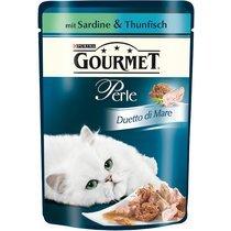 Gourmet Portionsbeutel Perle Duetto di Mare Sardine & Thunfisch85g (24 x 85G)