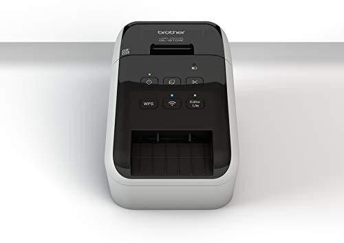 Brother ql-810W Wärme direkt Farbe 300x 600dpi schwarz, weiß Drucker-Etiketten (CD)