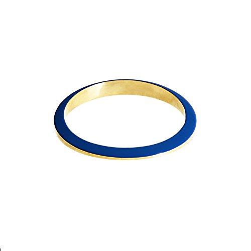 Uncommon Matters Bracelet jonc Plaqué Or Femme bleu