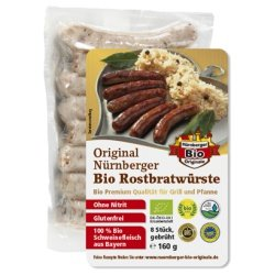 Original Nürnberger Rostbratwürste Bio