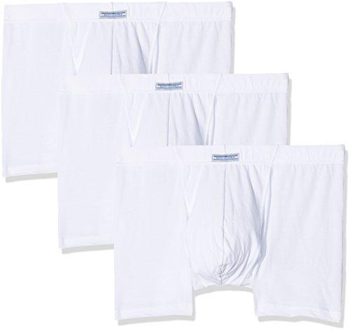 Cotonella Herren Boxershorts, 3er Pack Bianco