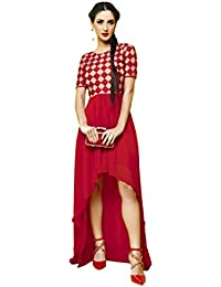 Lords Multi Net (Yokes) & Georgette Stitched Embroidery With Embroidery Kurti