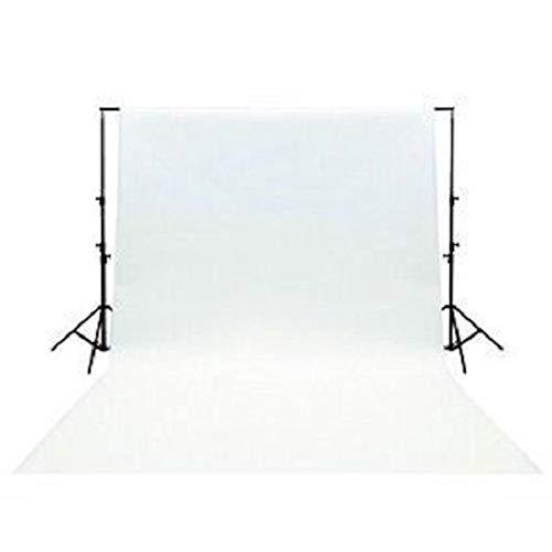 Ex-Pro 3x 6m hochwertige Baumwolle Fotografien Hintergrund mit Stab Pocket-weiß (Kamera, Kulisse Kit)