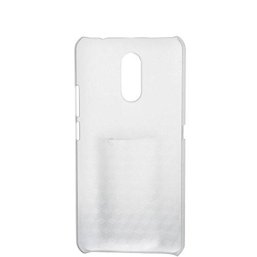 Tasche für Ulefone Gemini Hülle, Ycloud Handy Backcover Kunststoff-Hard Shell Case Handyhülle mit stoßfeste Schutzhülle Smartphone Weiß Transparent