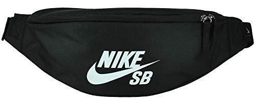 Nike Ba6077 Gürteltasche 10 Centimeters Schwarz (Black/Black/White) - Heritage Tasche