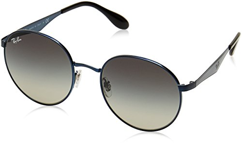 Ray-Ban Gradient Rectangular Men's Sunglasses - (0RB3537185/1151|51|Light Grey and Gradient Grey) image