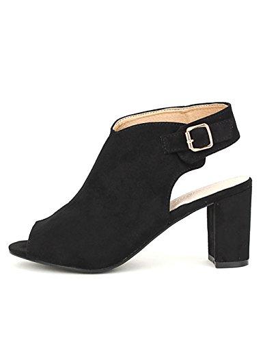 Cendriyon Sandale Noire Rebecca Chaussures Femme