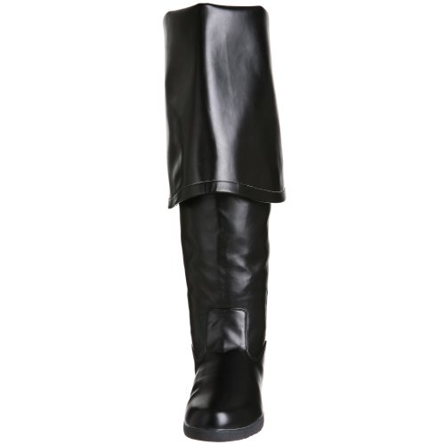 Pleaser, Stivali uomo Nero (Black Pu)