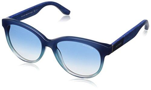 Tommy Hilfiger Damen Schmetterling Sonnenbrille TH 1265/S FE, Gr. 55 mm, 5H7 Preisvergleich
