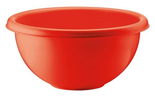 Guzzini Formes Home 86024-31 Bol à Salade, Rouge, en Plastique diamètre 25 cm