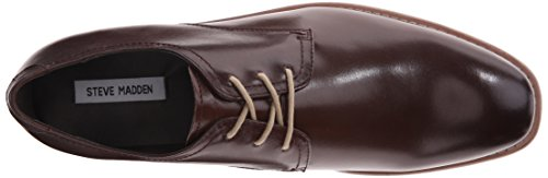 Steve Madden Elvess synthétique Oxford Brown Leather