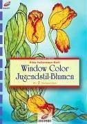 Window Color Jugendstil-Blumen: Mit 2 Vorlagebögen