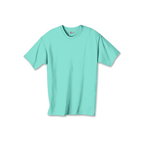 T Kids Tagless Shirt Mint Hanes Cotton Clean Authentic qwSEzaI