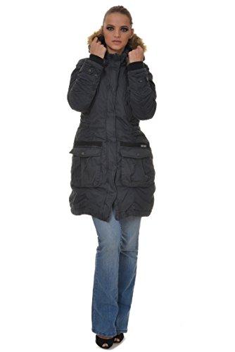 Giacca M.Conte Dorothea Donna Giacca con cappuccio grigio M