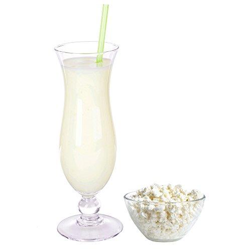Hüttenkäse Geschmack Proteinpulver Vegan mit 90% reinem Protein Eiweiß L-Carnitin angereichert für Proteinshakes Eiweißshakes Aspartamfrei (1 kg)