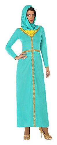 Atosa-17717 Disfraz Arabe, Color celeste, XL (17717