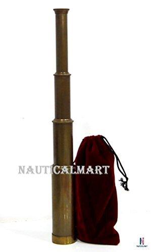 Vintage Messing Nautischen Teleskop Pirat Navigation